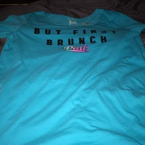 """NWT Victoria's Secret """"But First Brunch"""" Nightgown"""